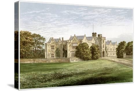 Wytham Abbey, Oxfordshire, Home of the Earl of Abingdon, C1880-AF Lydon-Stretched Canvas Print
