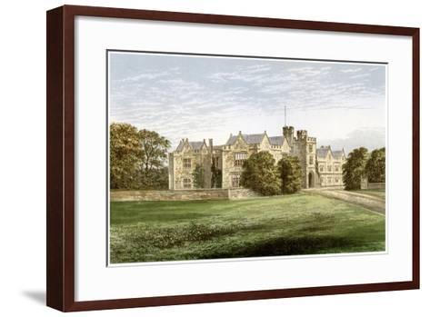 Wytham Abbey, Oxfordshire, Home of the Earl of Abingdon, C1880-AF Lydon-Framed Art Print