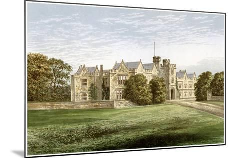 Wytham Abbey, Oxfordshire, Home of the Earl of Abingdon, C1880-AF Lydon-Mounted Giclee Print