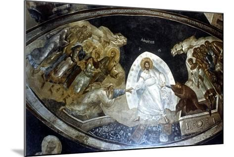 Anastasis, Fresco in the Parekklesion of Church of Christ in Chora, C1310-C1320--Mounted Giclee Print