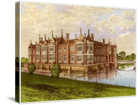 Helmingham Hall, Suffolk, Home of Baron Tollemache, C1880-AF Lydon-Stretched Canvas Print