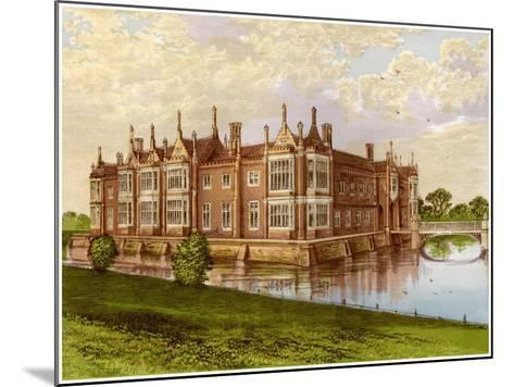 Helmingham Hall, Suffolk, Home of Baron Tollemache, C1880-AF Lydon-Mounted Giclee Print