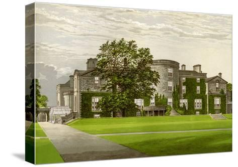 Galloway House, Wigtownshire, Scotland, Home of the Earl of Galloway, C1880-AF Lydon-Stretched Canvas Print