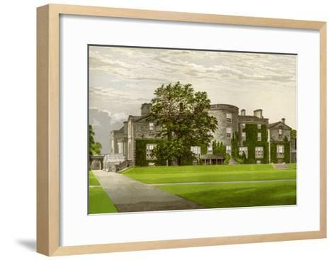 Galloway House, Wigtownshire, Scotland, Home of the Earl of Galloway, C1880-AF Lydon-Framed Art Print