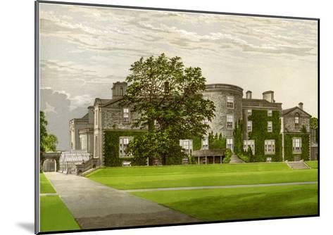 Galloway House, Wigtownshire, Scotland, Home of the Earl of Galloway, C1880-AF Lydon-Mounted Giclee Print