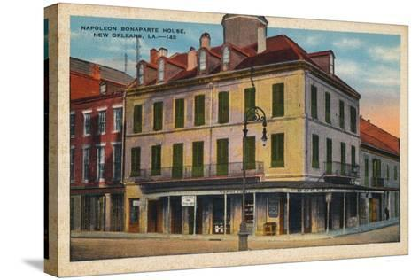 Napoleon Bonaparte House, New Orleans, 1935--Stretched Canvas Print