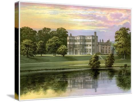 Astley Hall, Lancashire, Home of Baronet De Hoghton, C1880-Benjamin Fawcett-Stretched Canvas Print