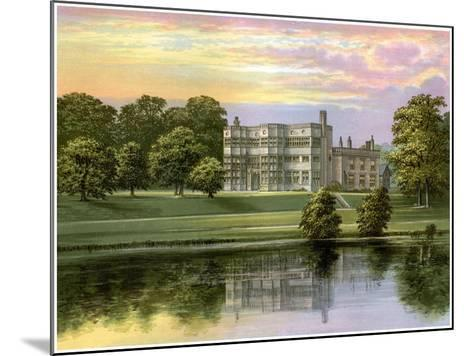 Astley Hall, Lancashire, Home of Baronet De Hoghton, C1880-Benjamin Fawcett-Mounted Giclee Print
