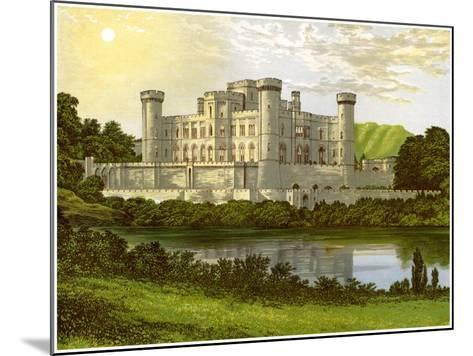 Eastnor Castle, Herefordshire, Home of Earl Somers, C1880-Benjamin Fawcett-Mounted Giclee Print