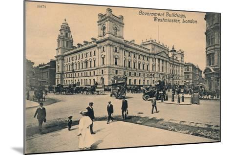 Government Offices Great George Street (Goggs), Westminster, London, C1910--Mounted Giclee Print