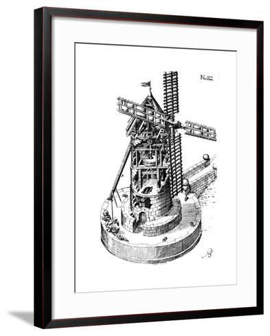 Tower Mill, 1620--Framed Art Print