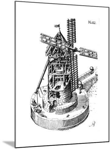 Tower Mill, 1620--Mounted Giclee Print