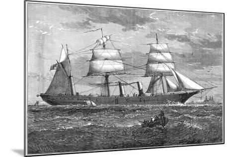 Dispatch Vessel HMS Iris, C1880--Mounted Giclee Print