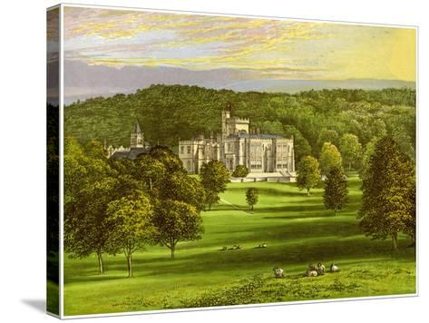 Capernwray, Lancashire, Home of the Marton Family, C1880-AF Lydon-Stretched Canvas Print