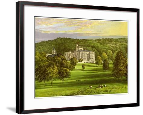 Capernwray, Lancashire, Home of the Marton Family, C1880-AF Lydon-Framed Art Print