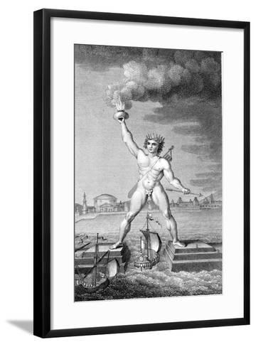 Colossus of Rhodes--Framed Art Print