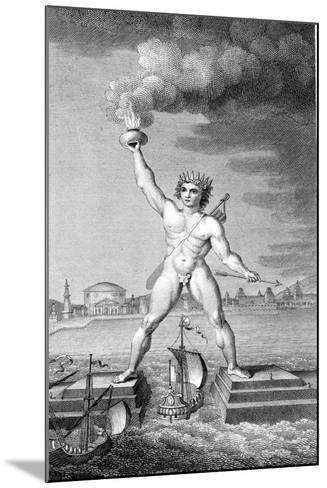 Colossus of Rhodes--Mounted Giclee Print