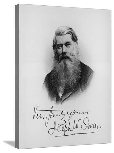 Sir Joseph Wilson Swan, Scientist and Inventor, C1900--Stretched Canvas Print