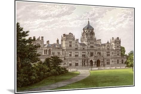 Westonbirt House, Gloucestershire, Home of the Holford Family, C1880-Benjamin Fawcett-Mounted Giclee Print