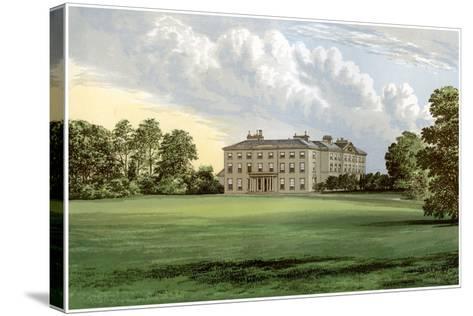 Farnham Lodge, County Cavan, Ireland, Home of Lord Farnham, C1880-AF Lydon-Stretched Canvas Print