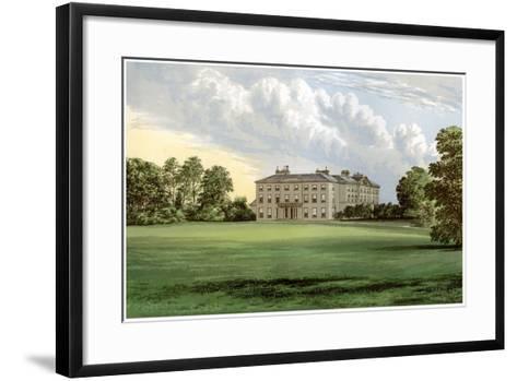 Farnham Lodge, County Cavan, Ireland, Home of Lord Farnham, C1880-AF Lydon-Framed Art Print