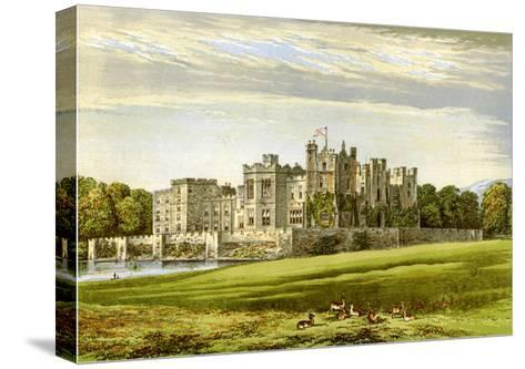 Raby Castle, County Durham, Home of the Duke of Cleveland, C1880-AF Lydon-Stretched Canvas Print