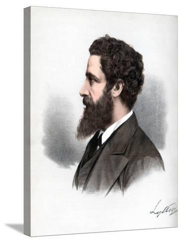 Robert Bulwer-Lytton, 1st Earl of Lytton, English Poet and Statesman, C1890-Petter & Galpin Cassell-Stretched Canvas Print