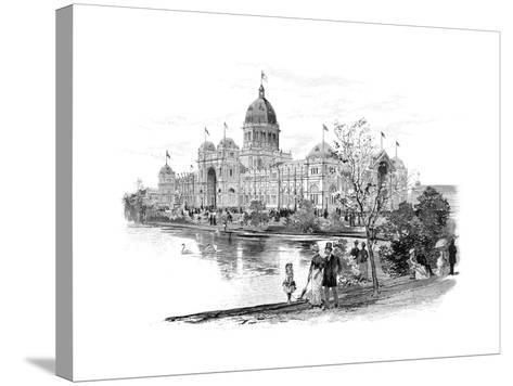 Melbourne Exhibition Building, Victoria, Australia, 1886--Stretched Canvas Print