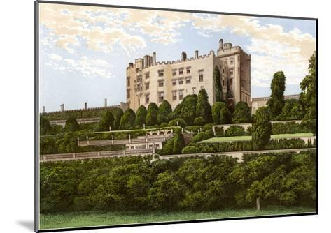 Powis Castle, Powys, Wales, Home of the Earl of Powys, C1880-Benjamin Fawcett-Mounted Giclee Print