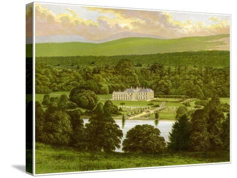 Barons Court, County Tyrone, Northern Ireland, Home of the Duke of Abercorn, C1880-Benjamin Fawcett-Stretched Canvas Print