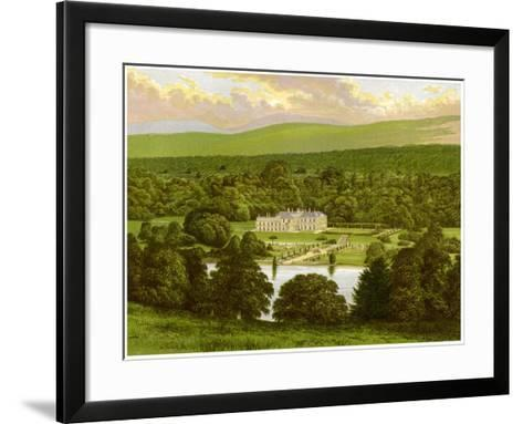 Barons Court, County Tyrone, Northern Ireland, Home of the Duke of Abercorn, C1880-Benjamin Fawcett-Framed Art Print
