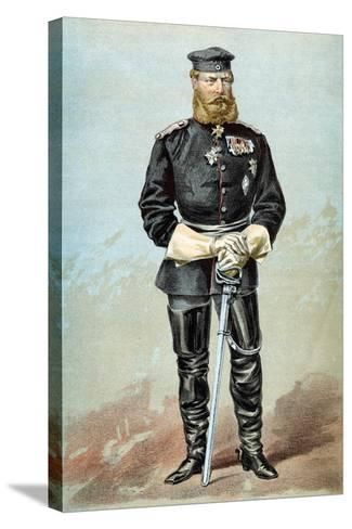 Frederick III (1831-188), Emperor of Germany, 1870--Stretched Canvas Print