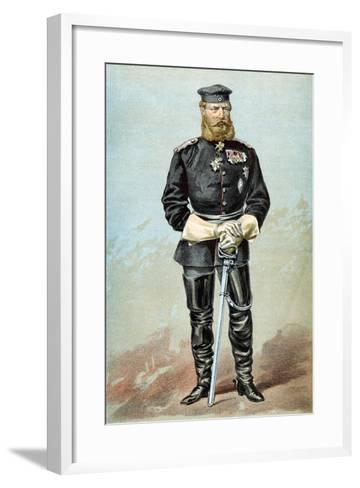 Frederick III (1831-188), Emperor of Germany, 1870--Framed Art Print