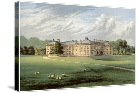 Holme Lacy, Herefordshire, Home of Baronet Stanhope, C1880-Benjamin Fawcett-Stretched Canvas Print