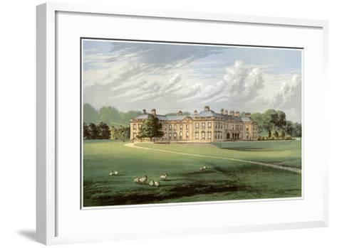 Holme Lacy, Herefordshire, Home of Baronet Stanhope, C1880-Benjamin Fawcett-Framed Art Print