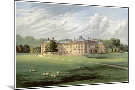 Holme Lacy, Herefordshire, Home of Baronet Stanhope, C1880-Benjamin Fawcett-Mounted Giclee Print