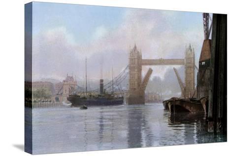 Tower Bridge, London, C1930S--Stretched Canvas Print