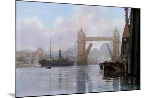 Tower Bridge, London, C1930S--Mounted Giclee Print