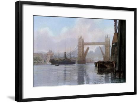 Tower Bridge, London, C1930S--Framed Art Print