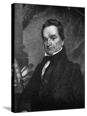 Edward Livingston, American Jurist and Statesman, 19th Century--Stretched Canvas Print