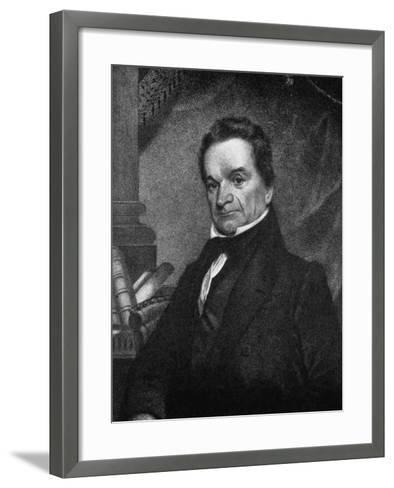 Edward Livingston, American Jurist and Statesman, 19th Century--Framed Art Print