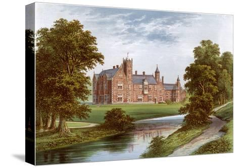 Thicket Priory, York, Home of the Dunnington-Jefferson Family, C1880-Benjamin Fawcett-Stretched Canvas Print