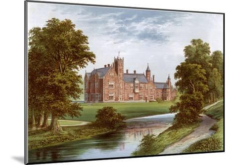 Thicket Priory, York, Home of the Dunnington-Jefferson Family, C1880-Benjamin Fawcett-Mounted Giclee Print