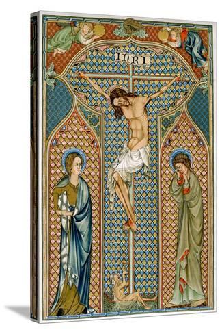 Crucifixion, Early 14th Century--Stretched Canvas Print