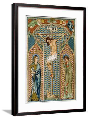 Crucifixion, Early 14th Century--Framed Art Print