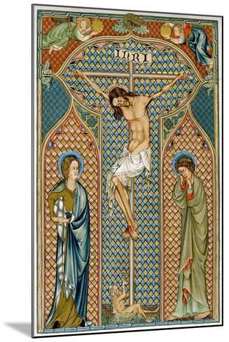Crucifixion, Early 14th Century--Mounted Giclee Print