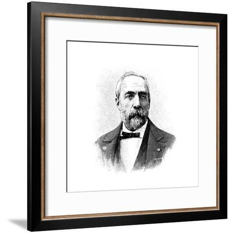 Ferdinand Fouque, French Geologist and Petrologist, 1904--Framed Art Print