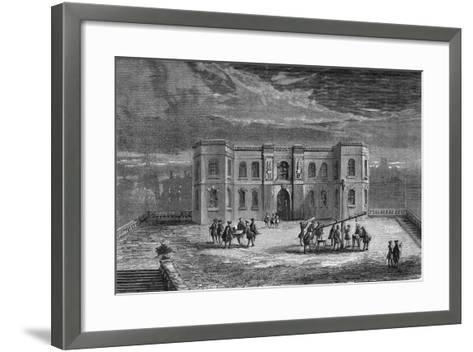 Paris Observatory in the Time of Louis XIV, 17th Century--Framed Art Print