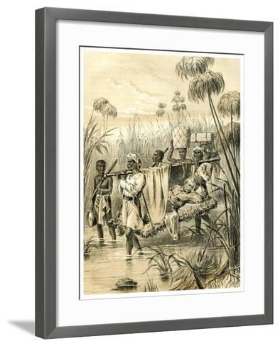 The Last Mile, 1873--Framed Art Print