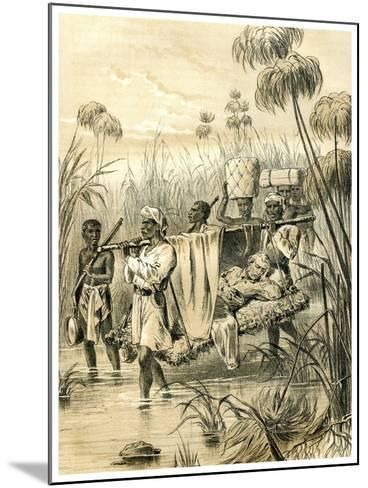 The Last Mile, 1873--Mounted Giclee Print